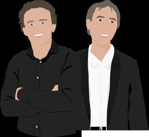 Sander en Rogier