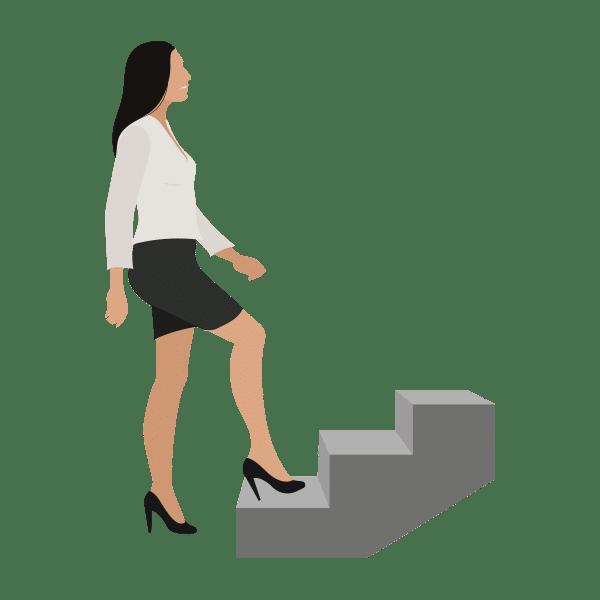 Traplopen gezonde gewoonte