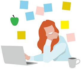 Gezonde Werkgewoontes illustratie