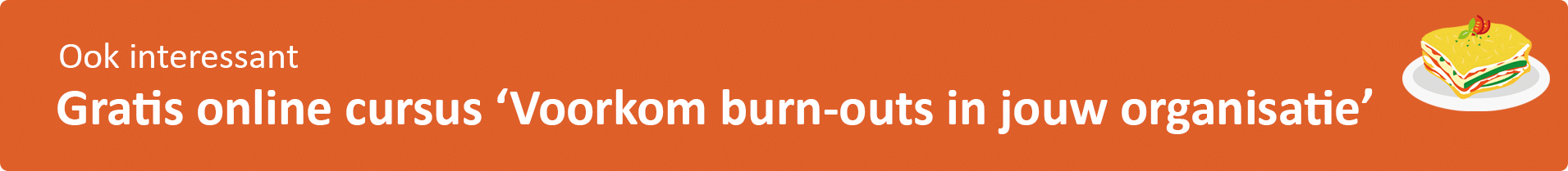 Burn-out preventie