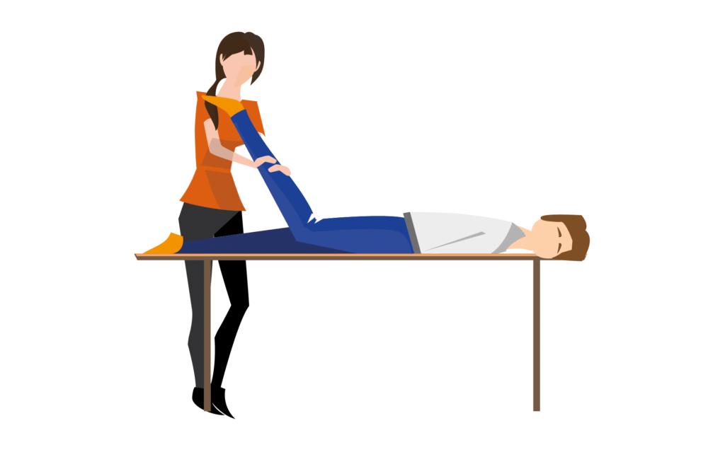 fysiotherapeut op locatie