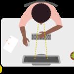 Arbo richtlijnen thuiswerkplek inrichten - muis en toetsenbord